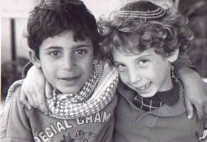 Arab and Jewish lads